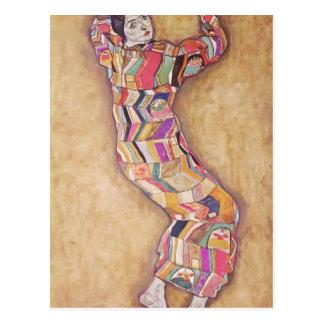Retrato de Egon Schiele- de la cerveza de Friederi Postales