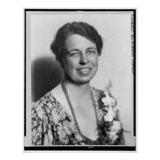 Retrato de Eleanor Roosevelt Póster