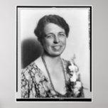 Retrato de Eleanor Roosevelt Posters