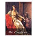 Retrato de Elisa Bonaparte, grande duquesa de Tusc Tarjetas Informativas