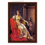 Retrato de Elisa Bonaparte, grande duquesa de Tusc Tarjetas