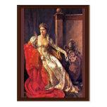 Retrato de Elisa Bonaparte, grande duquesa de Tusc Tarjeta Postal