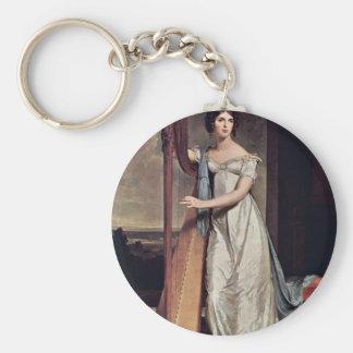 Retrato de Eliza Ridgely (la señora With The Harp) Llaveros