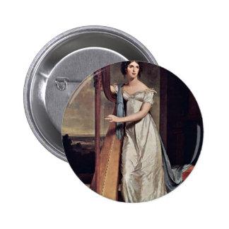 Retrato de Eliza Ridgely (la señora With The Harp) Pin