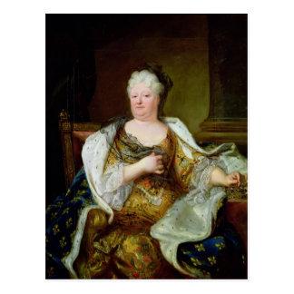 Retrato de Elizabeth Charlotte de Baviera Postal