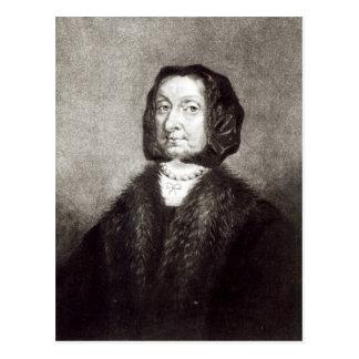 Retrato de Elizabeth Cromwell Postales