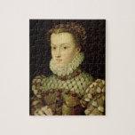 Retrato de Elizabeth de 1554-92) reinas o de Austr Puzzle