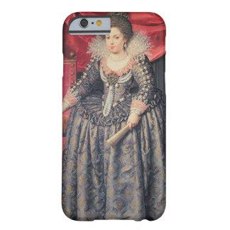 Retrato de Elizabeth de 1602-44) hijas de Francia Funda De iPhone 6 Barely There