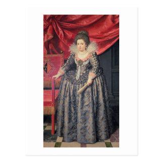 Retrato de Elizabeth de 1602-44 hijas de Francia Tarjetas Postales