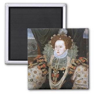 Retrato de Elizabeth I Imán Para Frigorífico