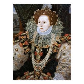 Retrato de Elizabeth I Tarjeta Postal
