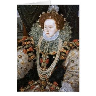 Retrato de Elizabeth I Tarjeton