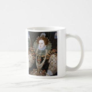 Retrato de Elizabeth I Taza De Café