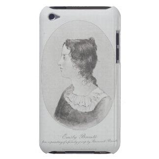 Retrato de Emily Bronte (1818-48) grabado por Wal Case-Mate iPod Touch Protectores