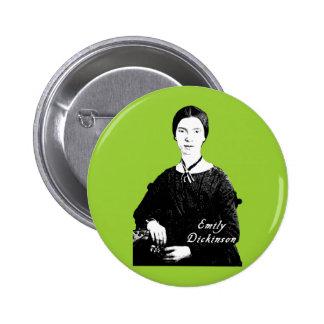 Retrato de Emily Dickinson en la ropa, las bolsas  Pin