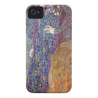 Retrato de Emily Floge de Gustavo Klimt iPhone 4 Case-Mate Carcasas