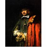 Retrato de enero seis de Rembrandt Harmensz. Van Esculturas Fotograficas
