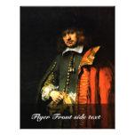 Retrato de enero seis de Rembrandt Harmensz. Van Tarjeton