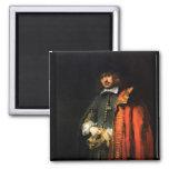 Retrato de enero seis de Rembrandt Iman Para Frigorífico