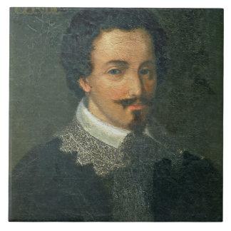 Retrato de Enrique I de Borbón Conde (aceite en el Azulejos Cerámicos
