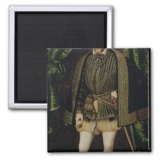 Retrato de Enrique II Imán Cuadrado