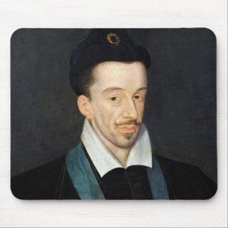 Retrato de Enrique III Mouse Pads