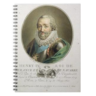 Retrato de Enrique IV rey de Francia y de Navarra Libros De Apuntes