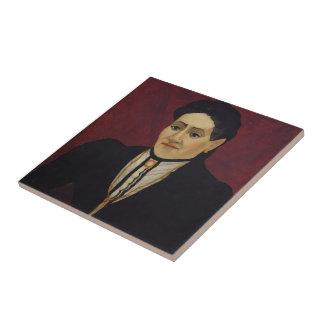 Retrato de Enrique Rousseau- de una mujer Tejas