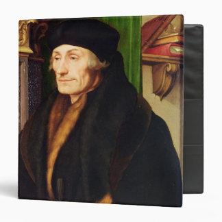 "Retrato de Erasmus, 1523 Carpeta 1 1/2"""