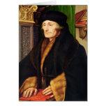 Retrato de Erasmus, 1523 Felicitaciones