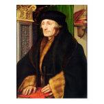 Retrato de Erasmus, 1523 Postal