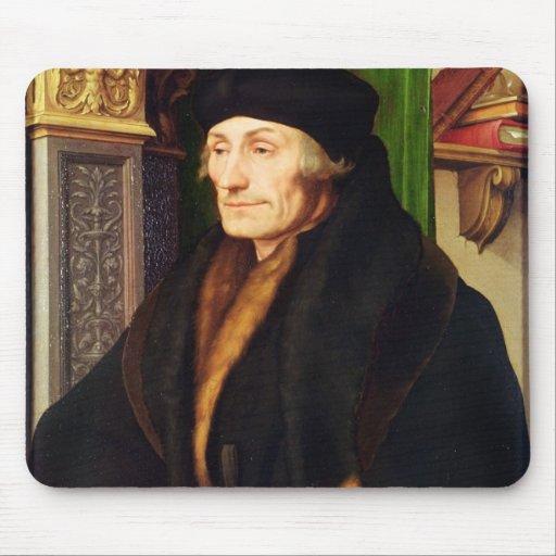 Retrato de Erasmus, 1523 Tapetes De Ratón