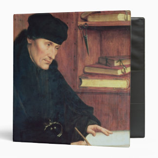 "Retrato de Erasmus de Rotterdam Carpeta 1 1/2"""