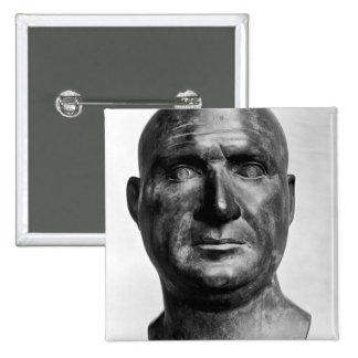 Retrato de Escipión el Africano Pin Cuadrada 5 Cm
