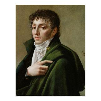 Retrato de Etienne-Enrique Mehul 1799 Postal