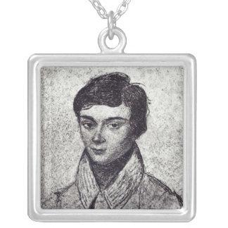 Retrato de Evariste Galois Colgante Cuadrado