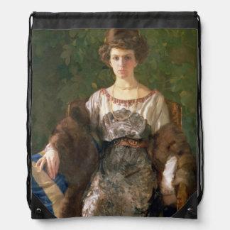 Retrato de Ewfimia Nosova, 1911 Mochilas