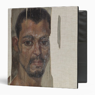 """Retrato de Fayum (cera del encaustic en la madera) Carpeta 1 1/2"""""""