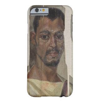 Retrato de Fayum (cera del encaustic en la madera) Funda Barely There iPhone 6