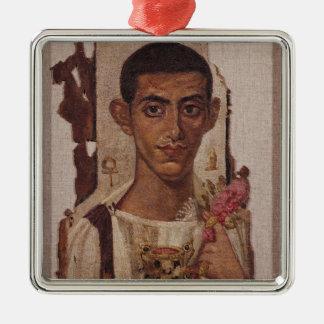 Retrato de Fayum de Ammonius, de Antinoe Ornamentos Para Reyes Magos