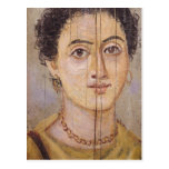 Retrato de Fayum de una mujer Postales