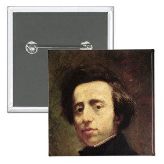 Retrato de Federico Chopin 2 Pins