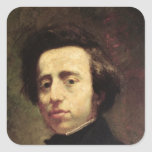 Retrato de Federico Chopin 2 Etiqueta