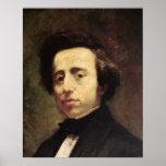 Retrato de Federico Chopin 2 Póster