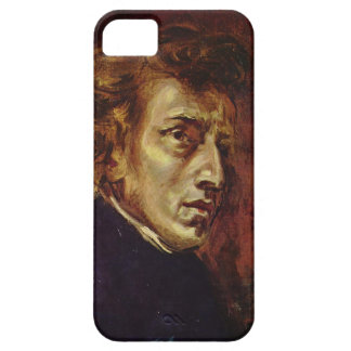 Retrato de Federico Chopin de Eugene Delacroix iPhone 5 Carcasas