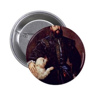 Retrato de Federico Ii Gonzaga. Por Tizian Pin