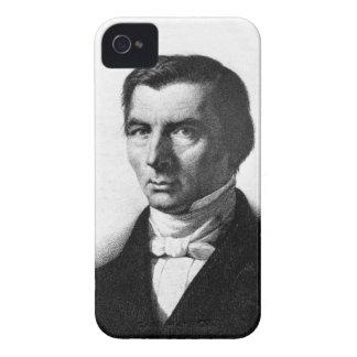 Retrato de Federico liberal clásico Bastiat iPhone 4 Case-Mate Cárcasa
