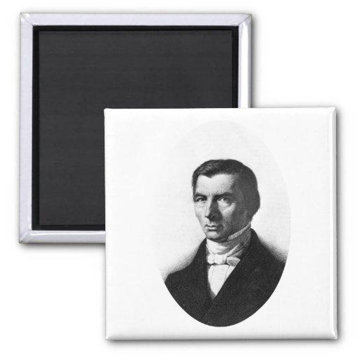 Retrato de Federico liberal clásico Bastiat Iman De Nevera