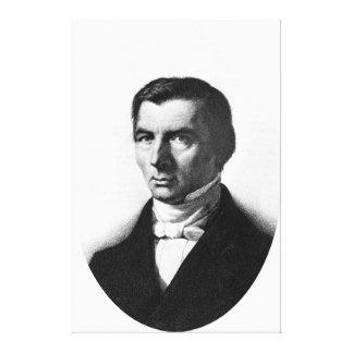 Retrato de Federico liberal clásico Bastiat Impresiones En Lona