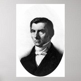 Retrato de Federico liberal clásico Bastiat Impresiones